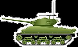World War 2 Tank Sticker