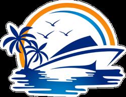Yacht Club Sticker