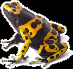 Yellow Poison Dart Frog Sticker