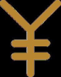 Yen Icon Sticker