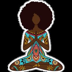 Yoga Pose Sticker