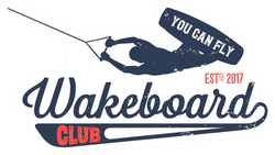 You Can Fly Wakeboard Club Sticker