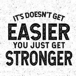 You Get Stronger Sticker