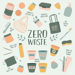 Zero Waste Elements Sticker