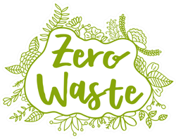 Zero Waste Leaves Sticker