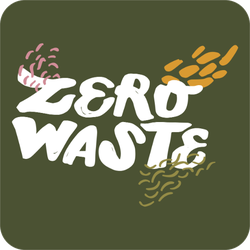 Zero Waste Green Sticker