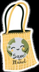 Zero Waste Shopping Sticker