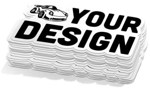 Custom Car Decals High Quality Long Lasting Vinyl Material