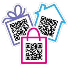 QR Code Stickers and Decals– Website URLs, Contact Info