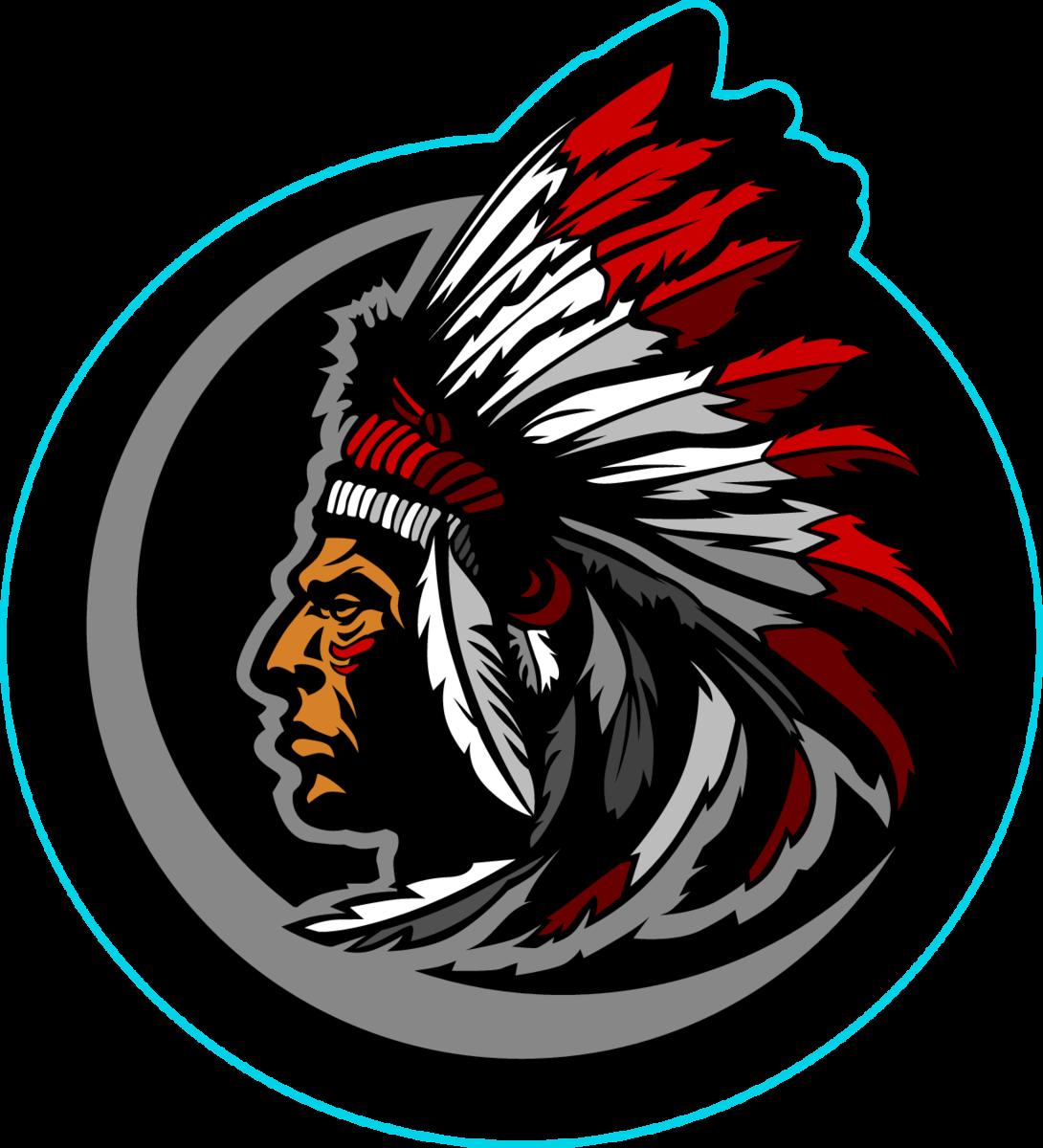 Graphic Native American Indian Chief Sticker