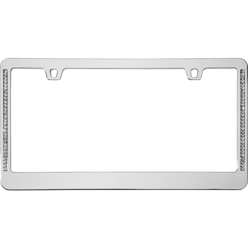Diamond Neo Chrome License Plate Frame