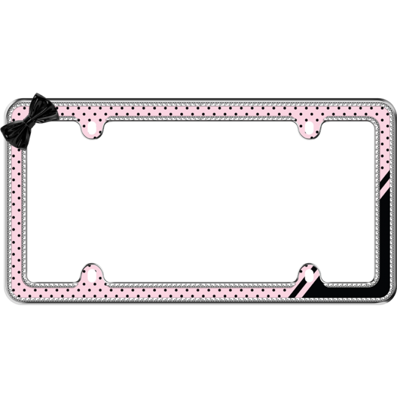 PRINCESS BUTTERFLY Metal License Plate Frame New