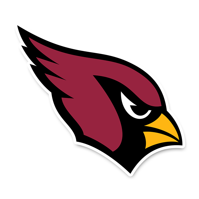 Arizona Cardinals NFL Logo Sticker