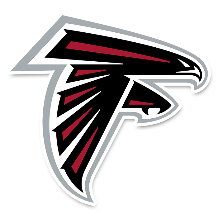 Atlanta Falcons NFL Logo Sticker