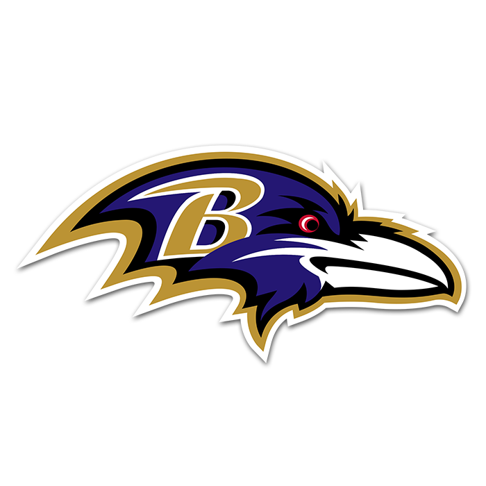 Baltimore Ravens NFL Logo Sticker