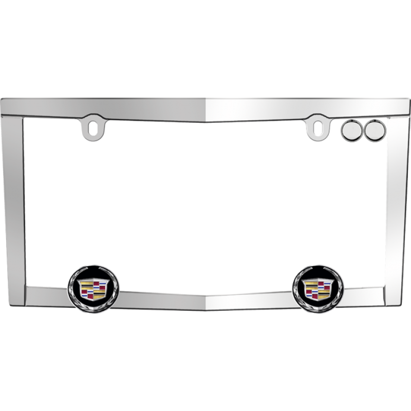 Cadillac License Plate Frame