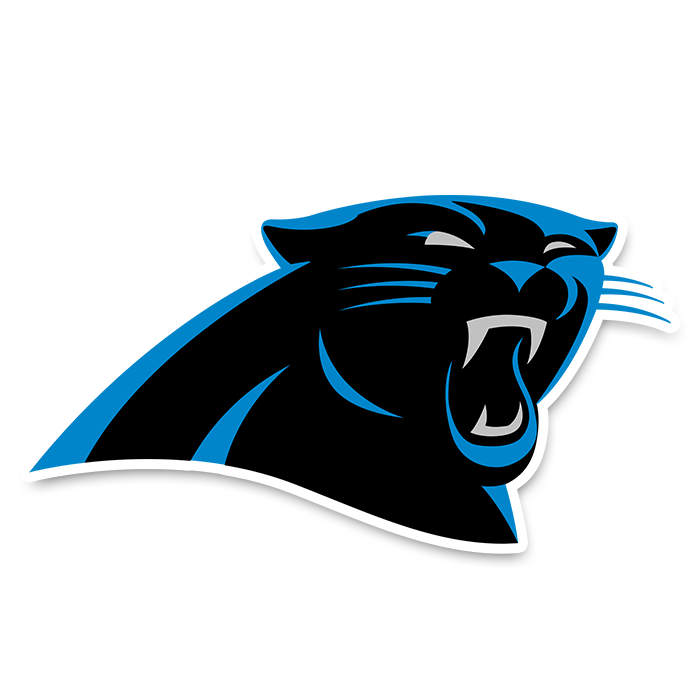 Carolina Panthers NFL Logo Sticker