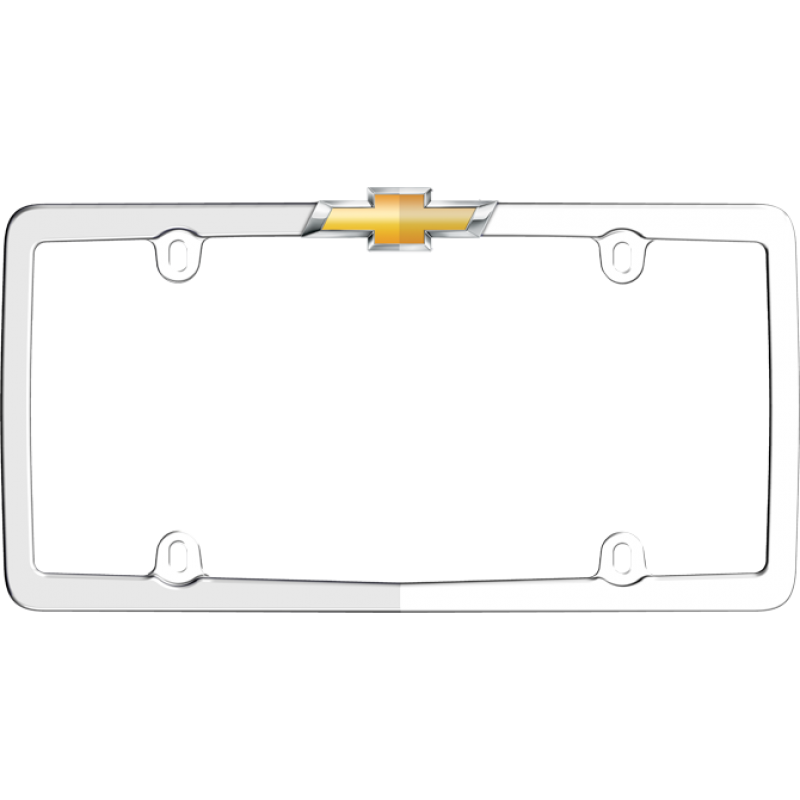 Chevy License Plate Frame