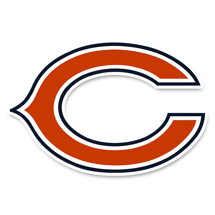 Chicago Bears NFL Logo Sticker