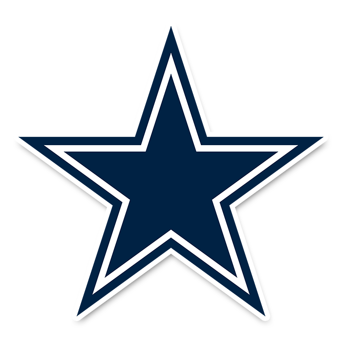 Dallas Cowboys NFL Logo Sticker