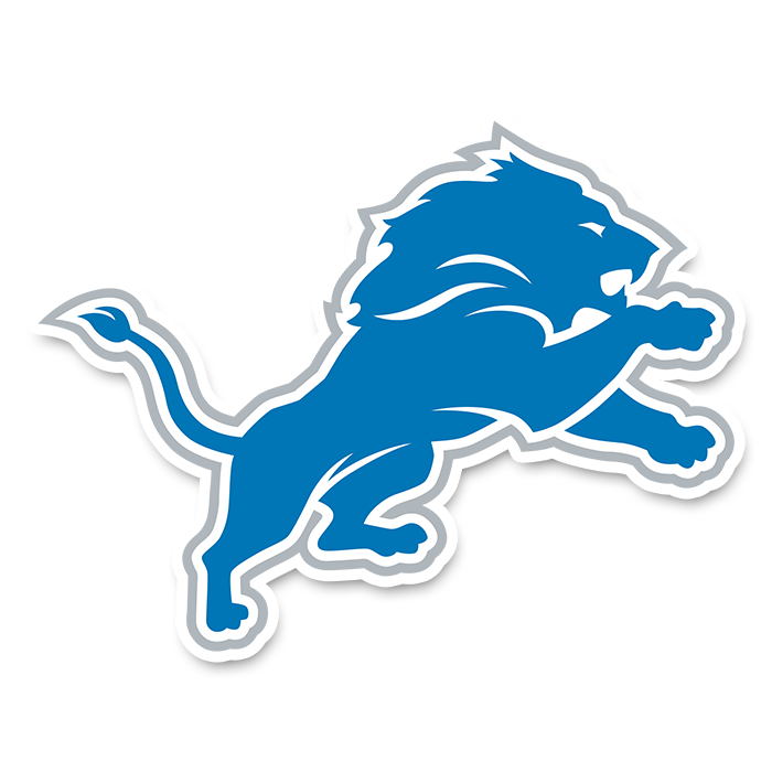 Detroit Lions NFL Logo Sticker