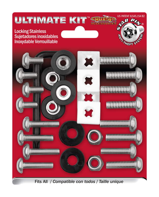 The Ultimate Mounting Hardware Kit