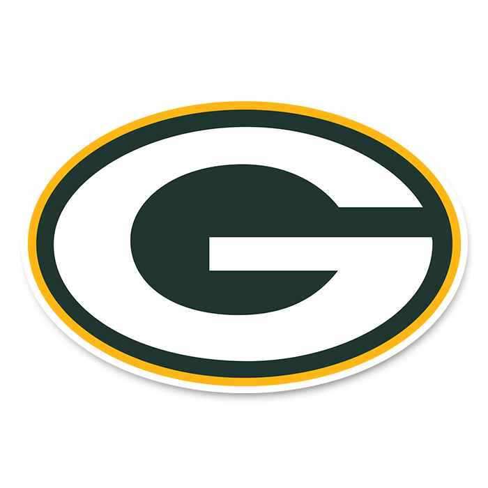 Green Bay Packers NFL Logo Sticker