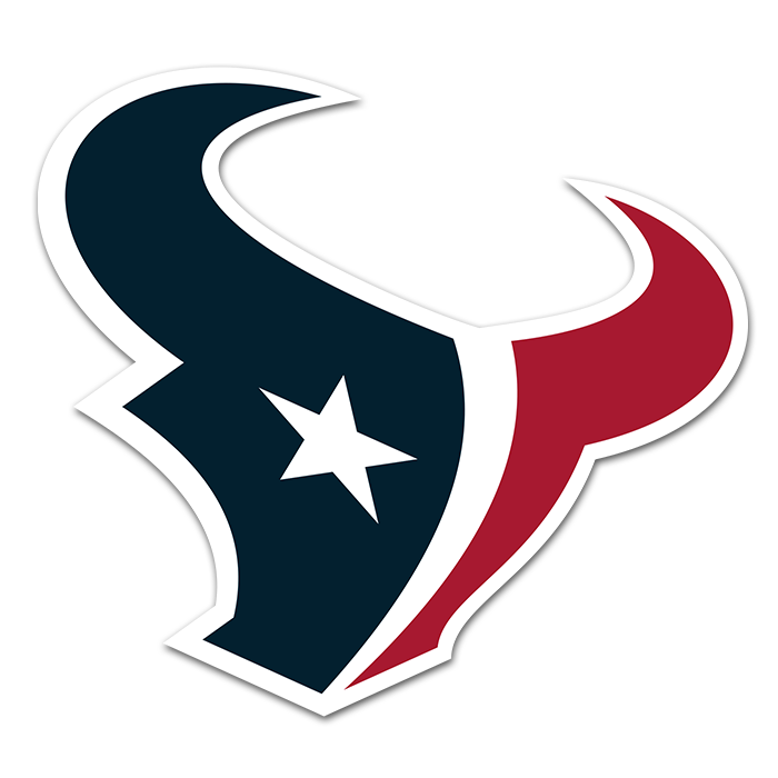 Houston Texans NFL Logo Sticker