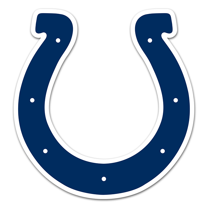 Indianapolis Colts NFL Logo Sticker