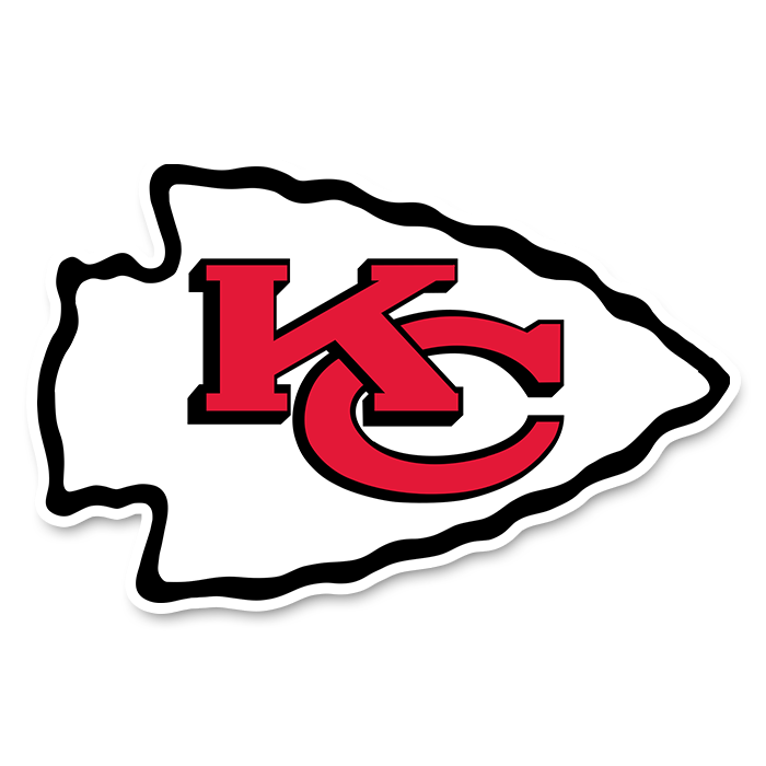 Kansas City Chiefs NFL Logo Sticker