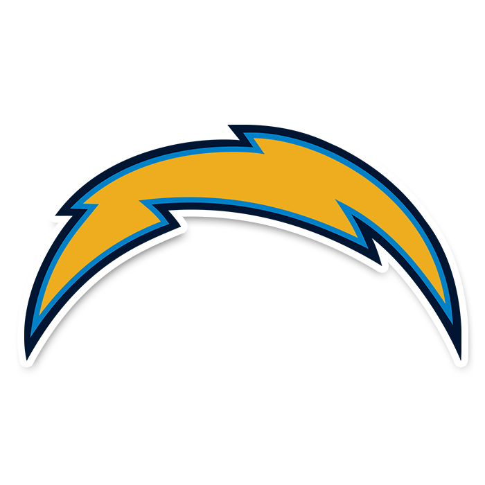 Los Angeles Chargers NFL Logo Sticker