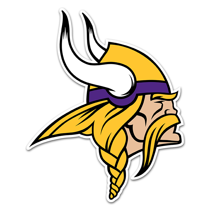 Minnesota Vikings NFL Logo Sticker