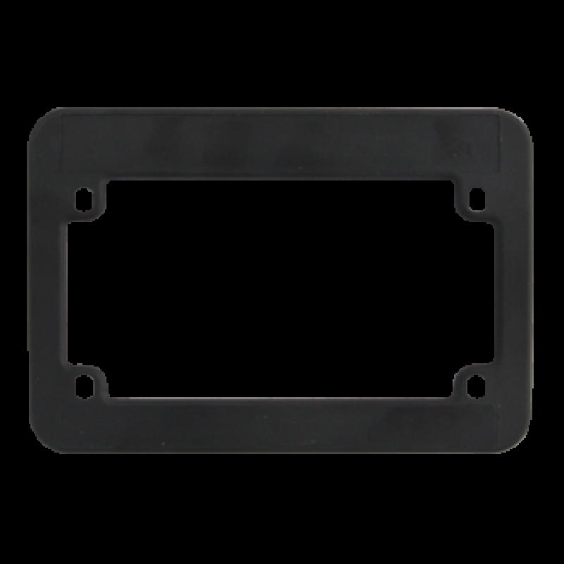 Blank Black Plastic Motorcycle Frame