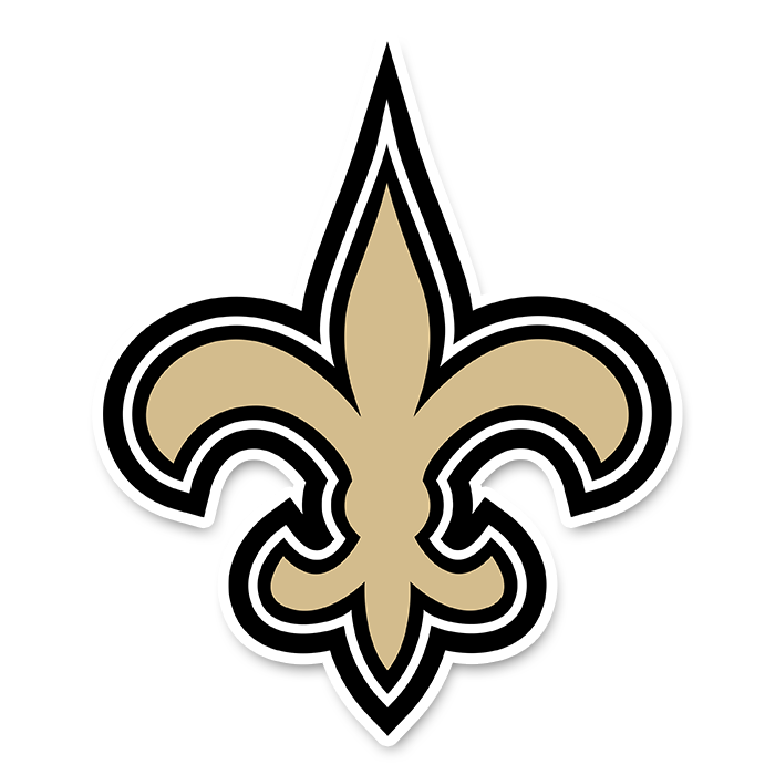 New Orleans Saints NFL Logo Sticker