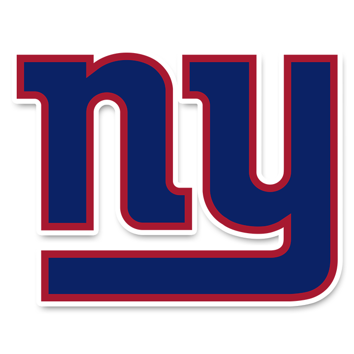 New York Giants NFL Logo Sticker