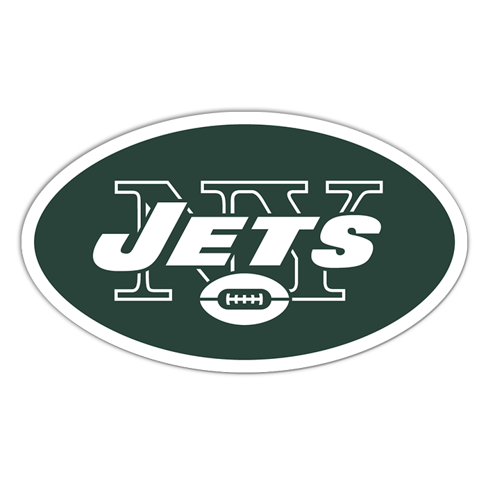 New York Jets NFL Logo Sticker