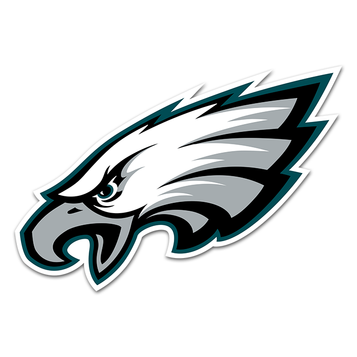 Philadelphia Eagles NFL Logo Sticker