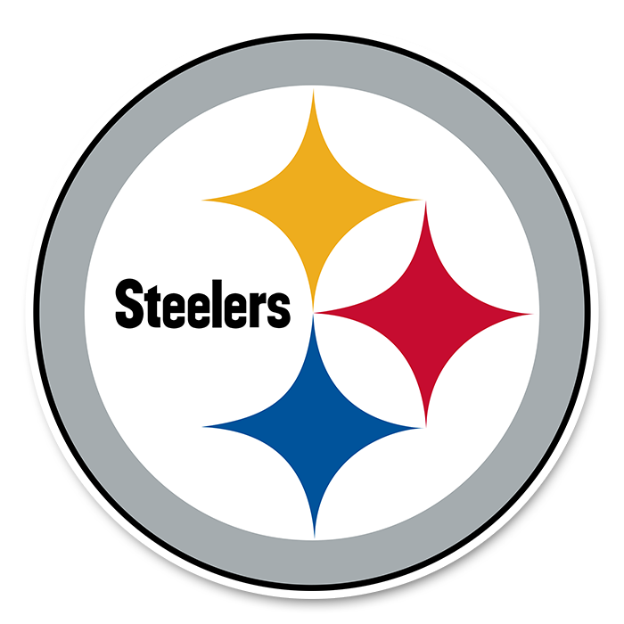 Pittsburgh Steelers NFL Logo Sticker