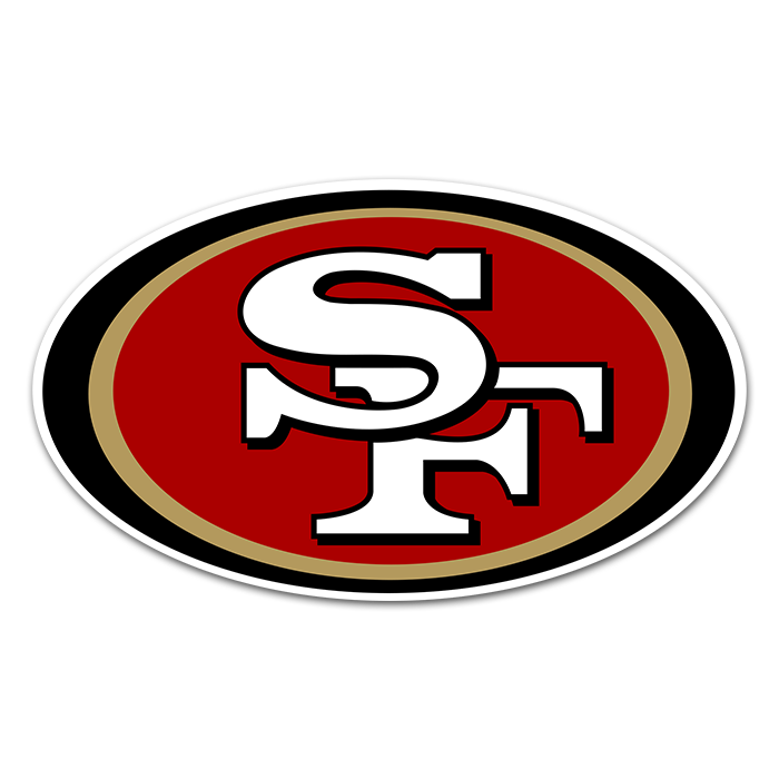 San Francisco 49ers NFL Logo Sticker