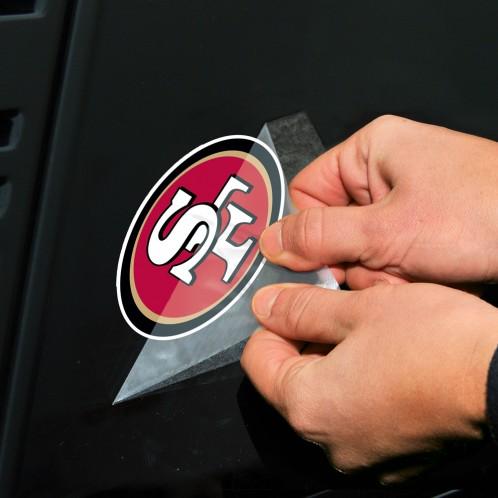 508b1134 San Francisco 49ers NFL Logo Sticker