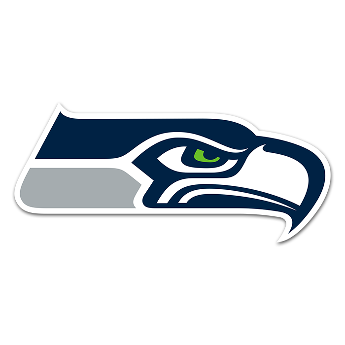 Seattle Seahawks NFL Logo Sticker
