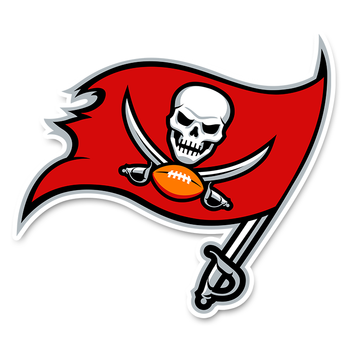 Tampa Bay Buccaneers NFL Logo Sticker
