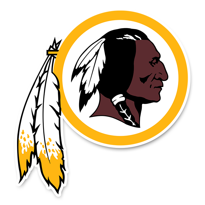 Washington Redskins NFL Logo Sticker