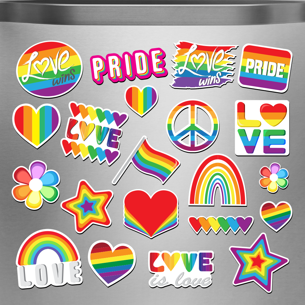Pride Magnet Bundle on a Concrete example