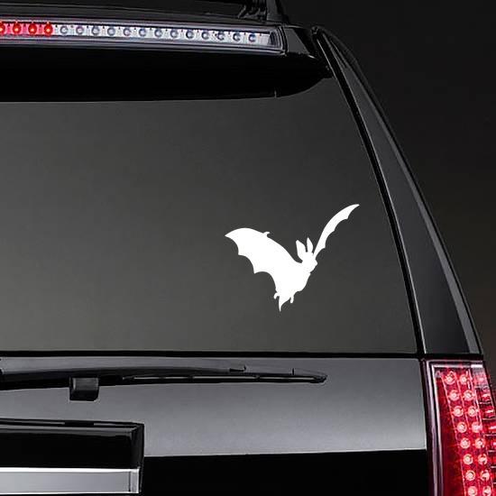 Bat Car Sticker on a Rear Car Window example