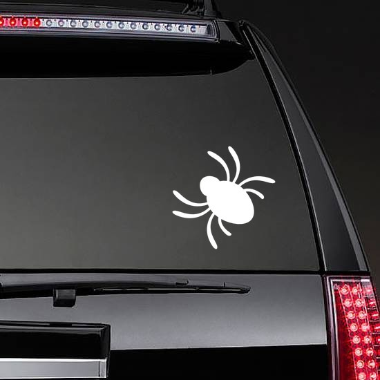 SELECT SIZE Cute Fuzzy Spiders Set of 3 Car Vinyl Stickers