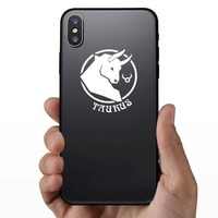 Astrology - Taurus Sticker on a Phone example