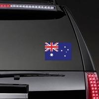Australia Flag Sticker on a Rear Car Window example