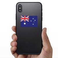 Australia Flag Sticker on a Phone example