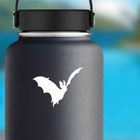 Bat Car Sticker on a Water Bottle example